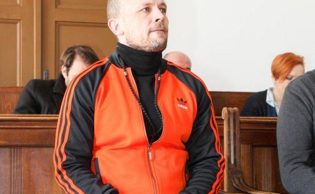 Petar Škoro se je izognil kazni za sodelovanje pri ropu, odsedel pa jo je zaradi tatvine avtomobila. FOTO: Marko Feist