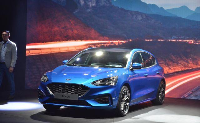 Ford focus bo na slovenske ceste zapeljal jeseni.