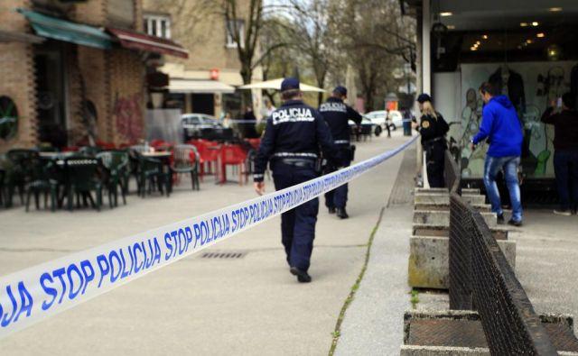 Policisti so osumljenca kmalu izsledili in prijeli. FOTO: Roman Šipić/Delo