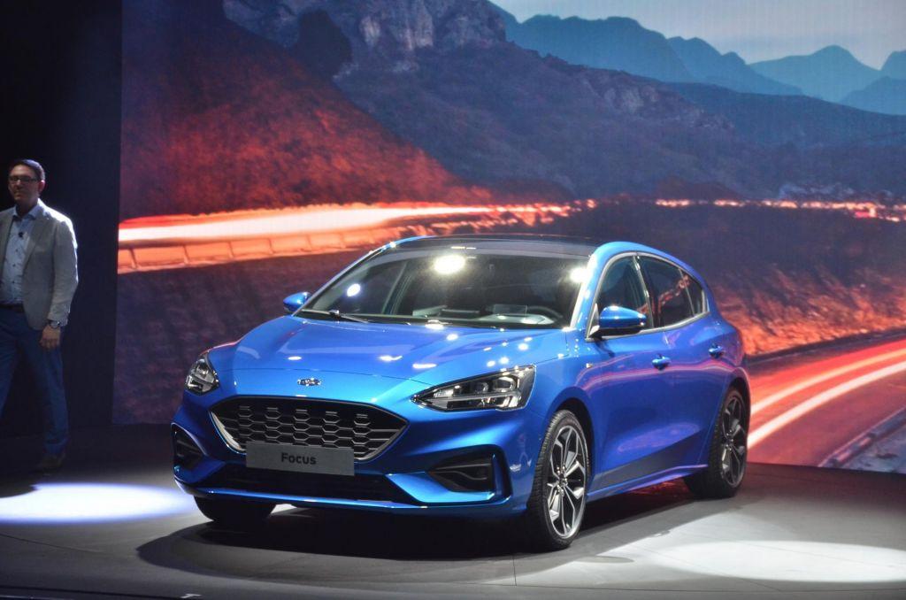 FOTO:Ford predstavlja novega focusa
