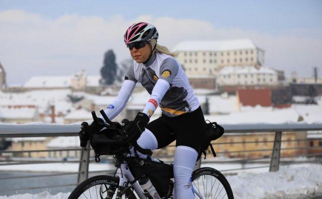 Ko je Bernarda Jurič trenirala na Ptuju, je bil še sneg. FOTO: Tit Košir