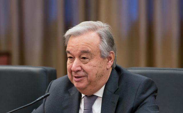Antonio Guterres, Generalni sekretar ZN.