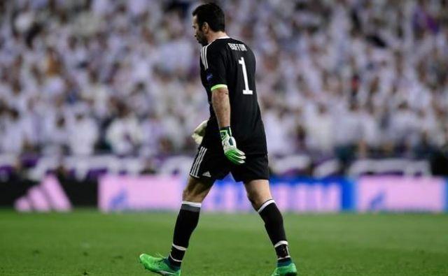 Gianluigi Buffon si ni zaslužil takšnega konca v ligi prvakov.