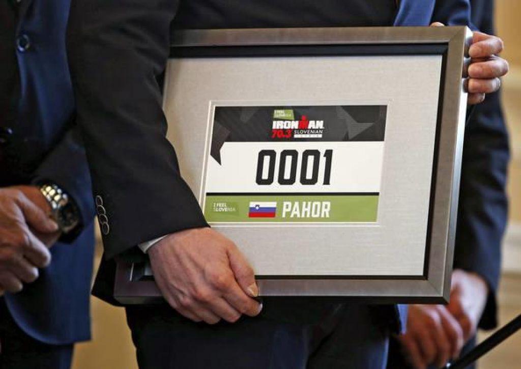 Borut Pahor bo številka 1 na Ironmanu