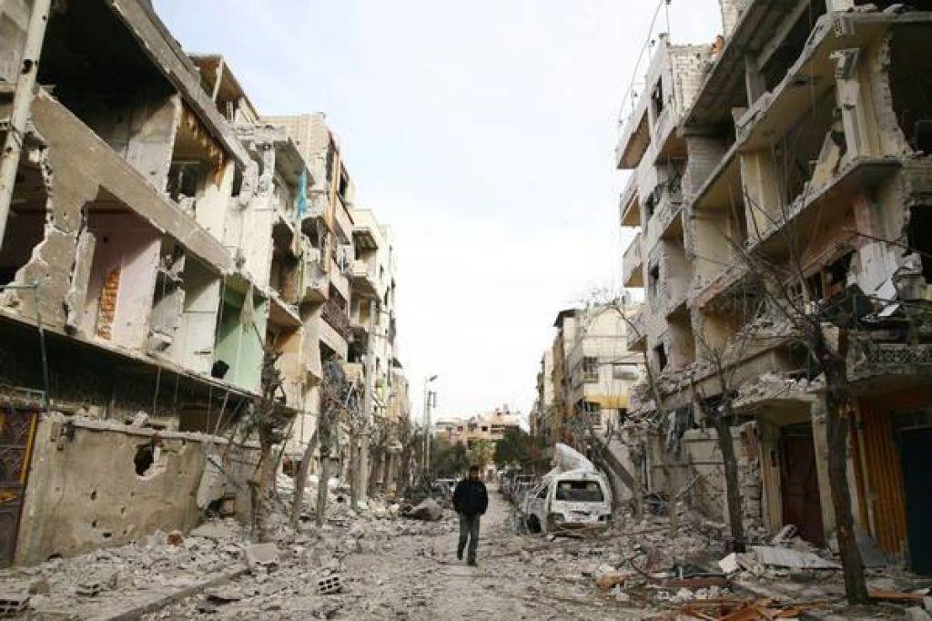 FOTO:V soboto začetek preiskave v Siriji