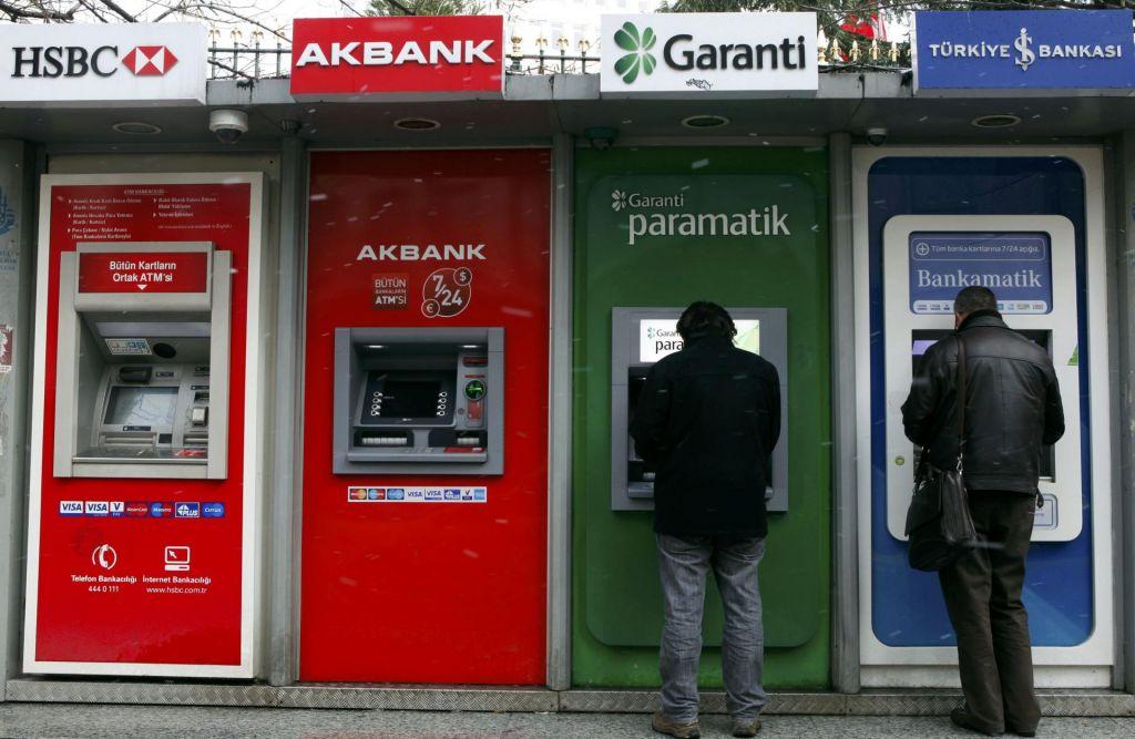 Lokacije bankomatov Sparkasse