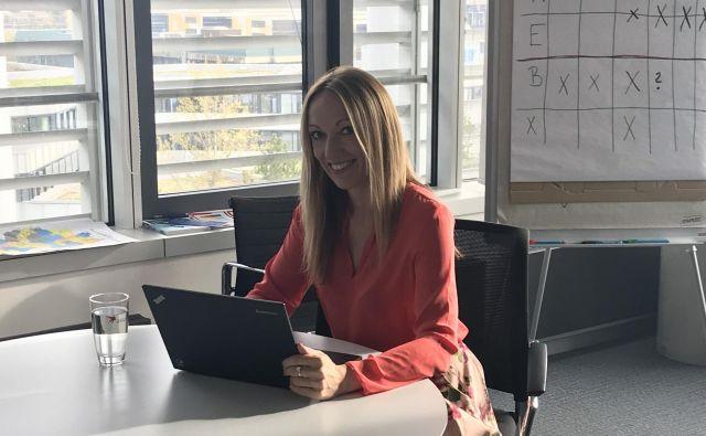 Maja Rode Žižmund je na Bavarskem direktorica prodaje pri podjetju Astellas Pharma, odgovorna za nemški trg.