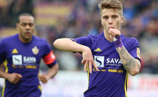 Luka Zahović je v dobrem mesecu zabil osem golov, v tednu dni pa kar šest. FOTO: Tadej Regent/Delo