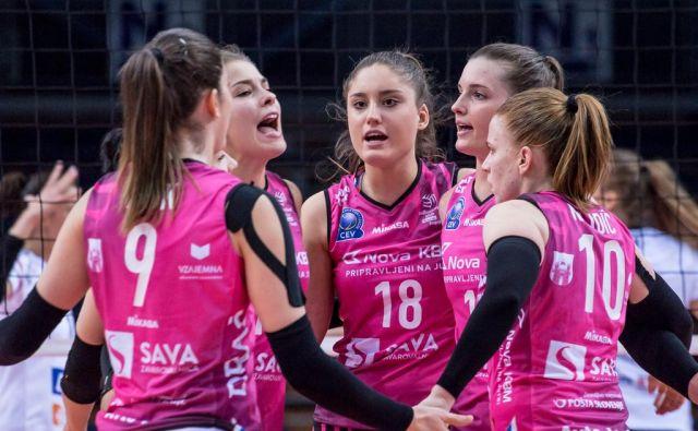 Mariborčanke so zasluženo postale državne prvakinje.