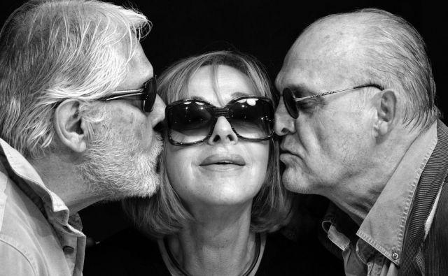 Boris Cavazza, Milena Zupančič in Radko Polič. FOTO: Peter Uhan
