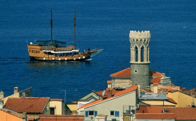 »Občina Piran je leta 1991 imela jurisdikcijo nad celotnim zalivom,« nam je včeraj potrdil tedanji predsednik skupščine občine Piran Franko Fičur. FOTO: Blaz Samec/Delo
