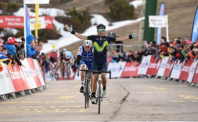 Alejandro Valverde lovi nov rekord. FOTO:Josep Lago/AFP