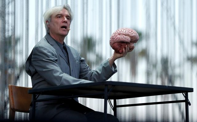 Nastop Davida Byrnea iz nekdanjih Talking Headsov. FOTO: Mario Anzuoni/Reuters