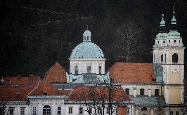 Sestavni deli Katoliške cerkve so v nekaterih primerih zelo ločeni od države. FOTO: Blaž Samec/Delo