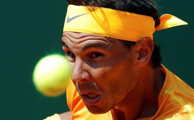 Rafael Nadal je oddal le dve igri. FotoEric Gaillard/Reuters