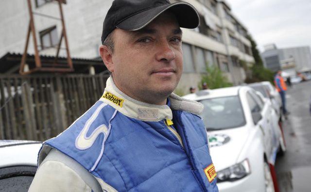 Darko Peljhan je bil lani v Vipavski dolini prehiter za tekmece. Foto Gregor Pavšič