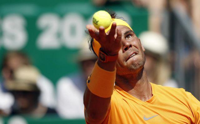Rafael Nadal je neusmiljen do tekmecev. FotoChristophe Ena/AP