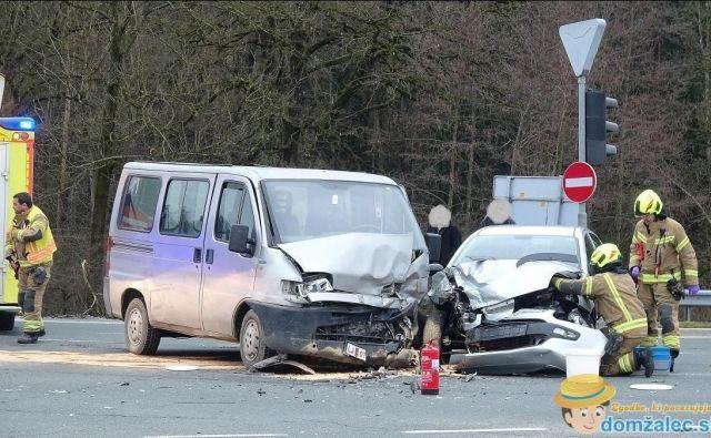 Namerna trčenja so bila prikazana kot dejanske prometne nesreče.