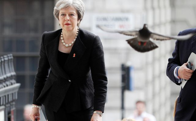Britanska premierka Theresa May. FOTO: REUTERS/Peter Nicholls