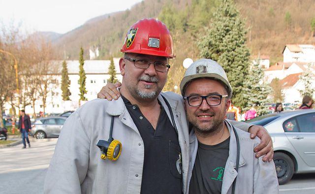 Stane Rožanc (levo) in Toni Lisec