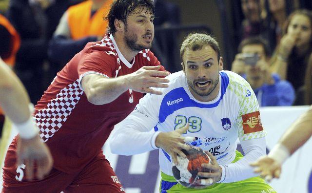 Uroš Zorman je rekorder po številu nastopov za slovensko reprezentanco, zbral jih je 225. Foto Cropix
