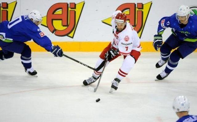 Slovenski hokejisti so bili še drugič neuspešni.