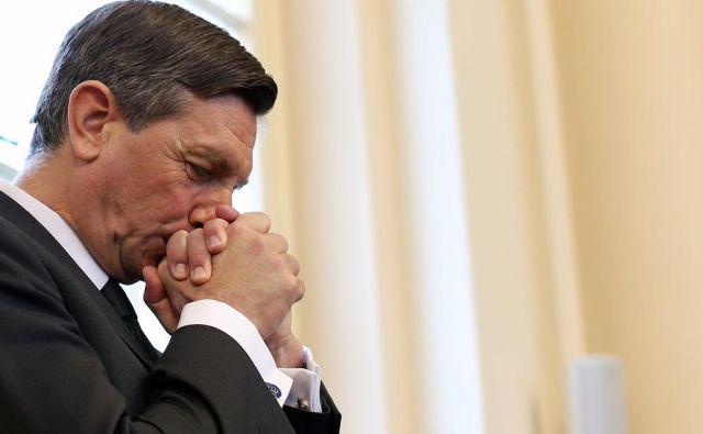 Pahor je v odzivu dejal, da je v slovenski politiki praktično od ustanovitve samostojne države, pri čemer je bil z njo v dobrem in slabem. FOTO: Tomi Lombar/Delo