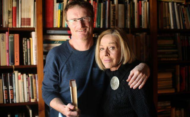 Milena Zupančič in Tadej Golob. FOTO: Jure Eržen/Delo