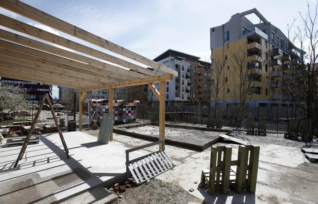 Nekdanje gradbišče doživljajski park, a le za nekaj mesecev