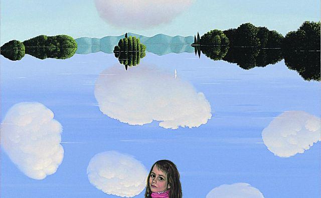 Metka Krašovec: Pot v ogledalo, akril na platnu, 2009.