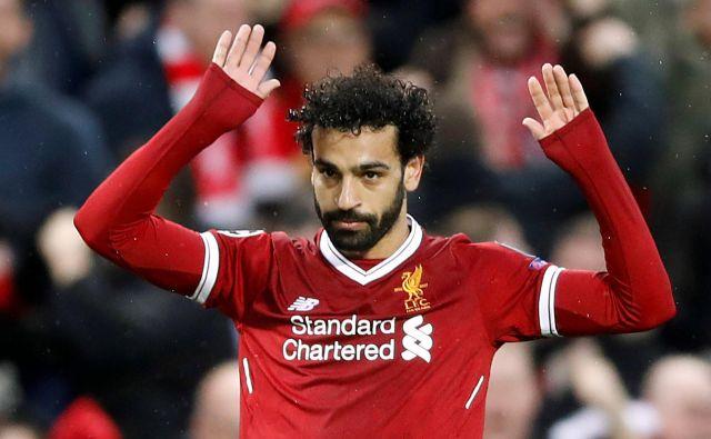 Mohamed Salah se je med prvo polfinalno tekmo dvakrat opravičil navijačem Rome za doseženi gol proti nekdanjemu klubu.