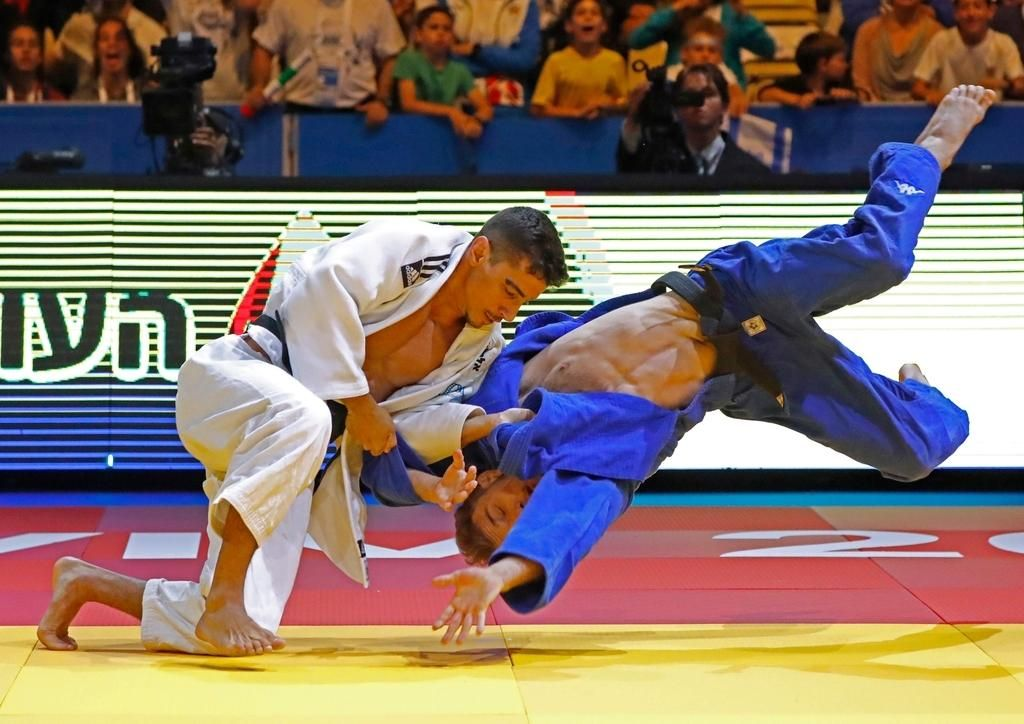 FOTO:Judoist Adrian Gomboc evropski prvak (VIDEO)