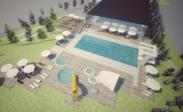 Letni bazen po novem ne bo večji, ampak le na drugi lokaciji. FOTO: Arhiv Mosg/
