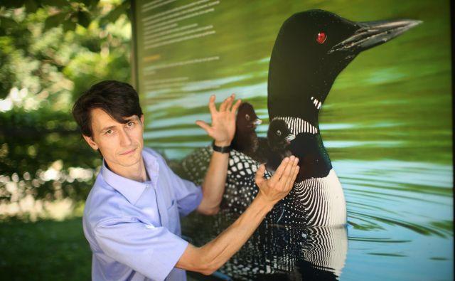 Direktor Društva za opazovanje in proučevanje ptic Slovenije dr. Damijan Denac.