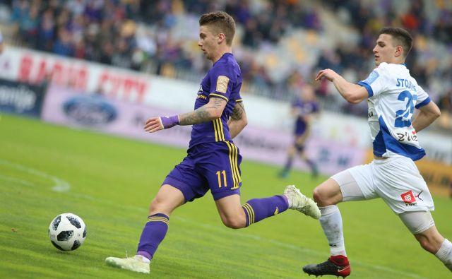 Luka Zahović je vprašljiv zaradi udarca v hrbet. FotoTadej Regent/Delo