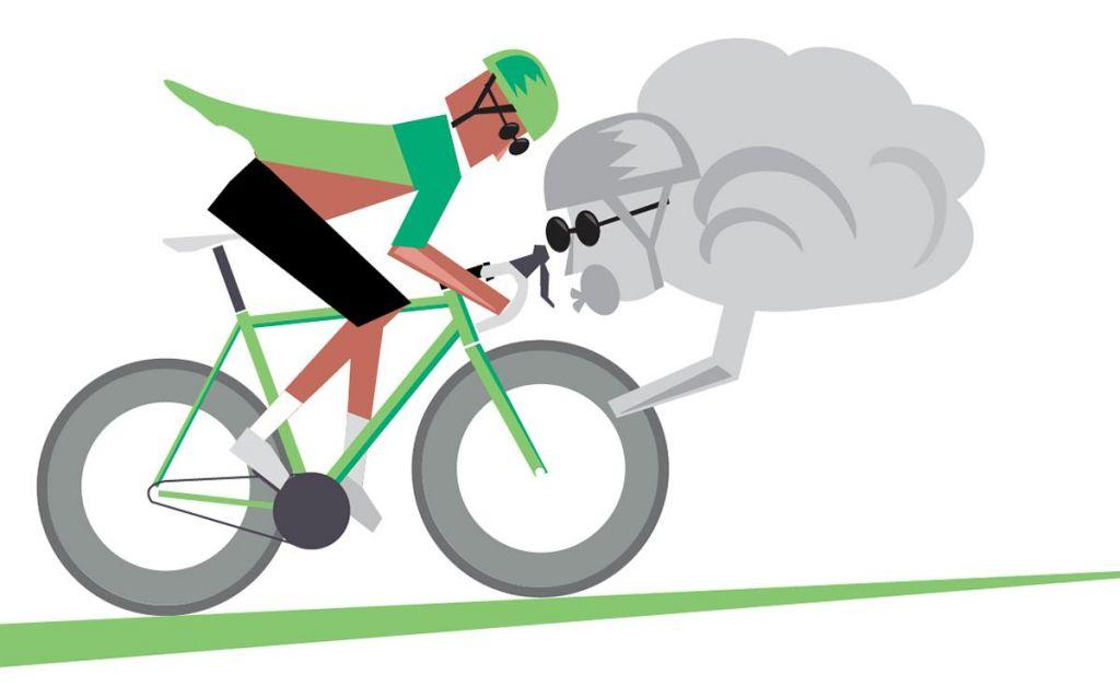 FOTO:Kar se kolesar nauči, to kolesar zna