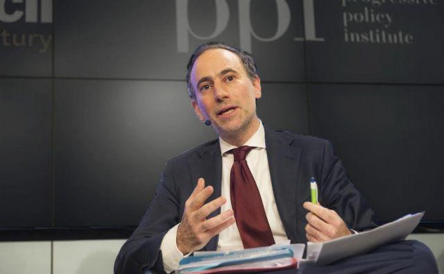Vsako podjetje, ki želi poslovati v Evropi, bo moralo spoštovati pravila GDPR, pravi Bruno Gencarelli.FOTO: Osebni Arhiv