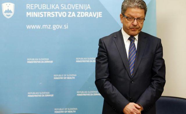 Konrad Kuštrin, predsednik zdravniškega sindikata Fides.FOTO: Matej Družnik/Delo