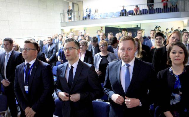 Marjan Šarec je v predsedniški kampanji »pokuril« pretekle presežke. FOTO: Roman Šipić/Delo