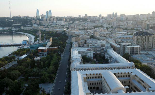 Baku, prestolnica Azerbajdžana.