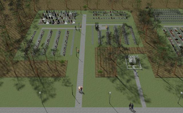 3D-projekcija načrta za grobnico Rudolfa Maistra. FOTO: Plečnikova Hiša, Muzej In Galerije Mesta Ljubljane