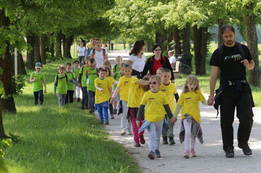 Ljubljana pozdravlja pohodnike in tekače