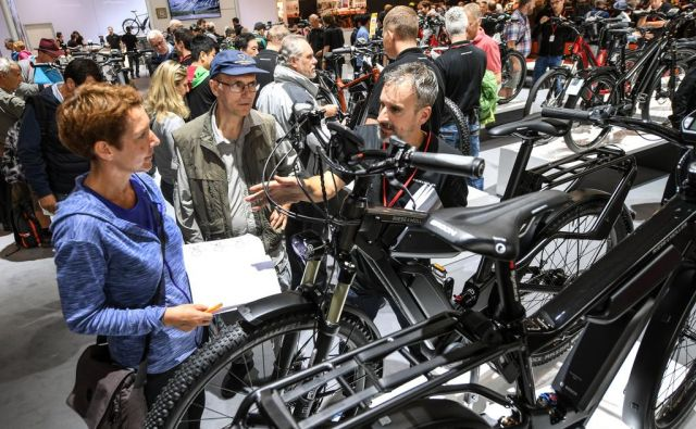 Zanimanje za električna kolesa narašča v različnih segmentih. FOTO: Eurobike