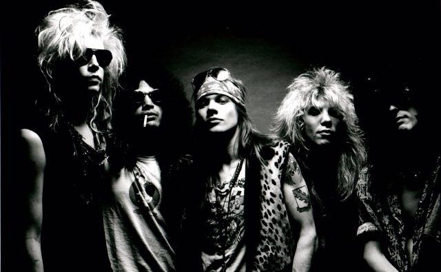 Ameriška rock skupina Guns N' Roses. FOTO: Arhiv zasedbe