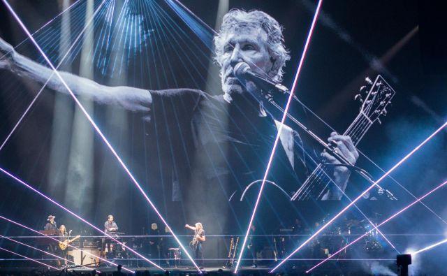 Roger Waters je navdušil 15 tisočglavo občinstvo. FOTO: Boris Podobnik