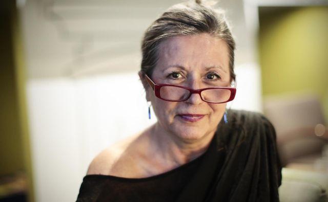 Dr. Vesna Vuk Godina, kritična komentatorka, ne provokatorka. FOTO: Uroš Hočevar/Delo