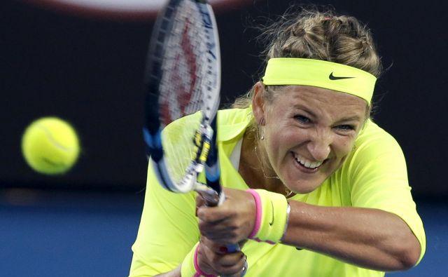 Viktorija Azarenka igra prvič po lanskem Wimbledonu igra zunaj ZDA. FOTO: Lee Jin-man/AP