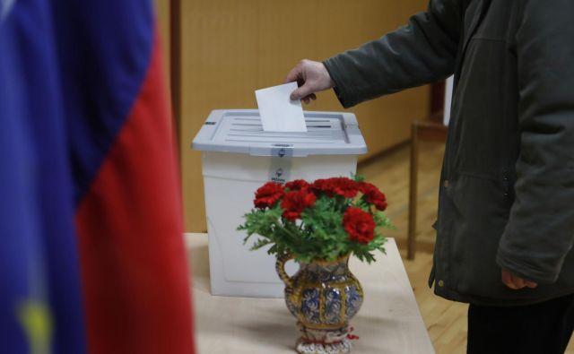 Katero stranko in katere obraze si bodo volilci želeli gledati prihodnja štiri leta? FOTO: Leon Vidic/Delo