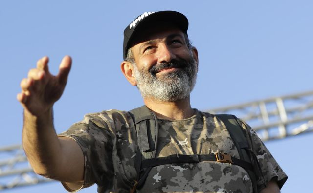 Novi armenski premier. FOTO: AP