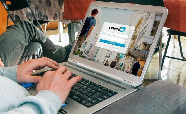 Linkedin je dobra podlaga za iskanje zaposlitve. FOTO: Shutterstock/